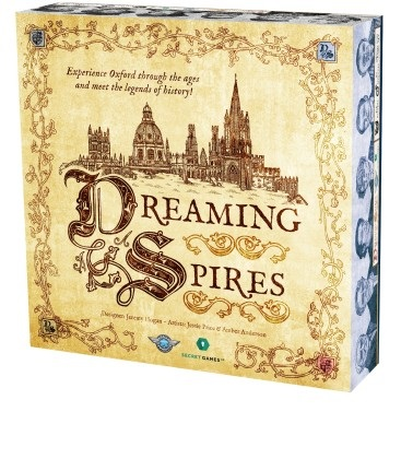 Dreaming Spires -  Secret Games